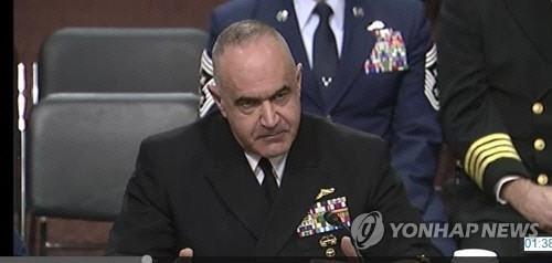 美전략사령관, 작계5027 핵무기 포함 질문에 답변회피
